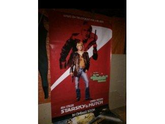 Bioscoop poster op geplastificeerd linnen .Starsky and Hutch .