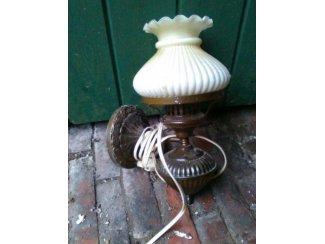 Nostalgische wandlamp.
