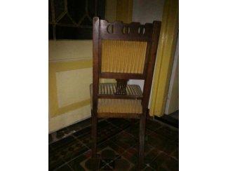 Meubels Antieke stoel ca.1900.