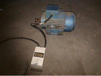 Electromotor zie foto's